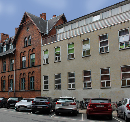 sanitet opsaetning institutioner amager
